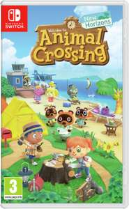 Nintendo Switch - Animal Crossing: New Horizons - £34.99 Delivered using code @ Currys PC World