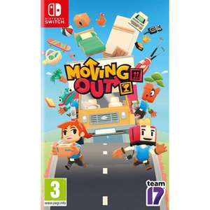 Moving Out Nintendo Switch - £11.95 delivered @ The Game Collection