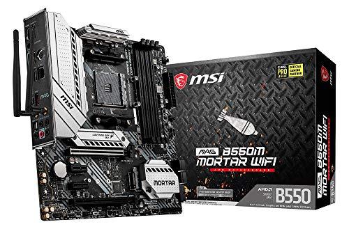 MSI MAG B550M Mortar Wi-Fi Motherboard Micro ATX - £121.49 @ Amazon