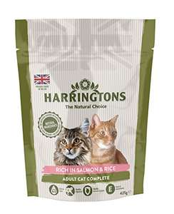HARRINGTONS Cat Food Complete Salmon with Rice 425 g Pack of 6 - £4.30 (+£4.49 non Prime) @ Amazon.