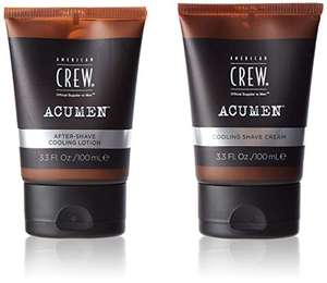 American Crew ACUMEN Shaving Cream and Cooling Lotion Set £3.97(+£4.49 Non Prime) at Amazon
