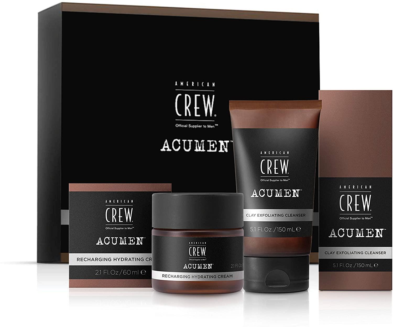 American Crew Acumen Skincare Duo Cleanser and Moisteriser - £7.74 Prime / +£4.49 non Prime @ Amazon