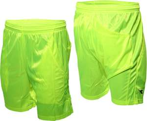 Diadora football shorts in neon green with pockets (sizes XS, S, M only) for £4.99 delivered @ eBay / startfitness-outlet