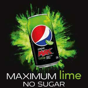 New Pepsi Max Lime 8 Can Packs are £2.50 @ One Stop
