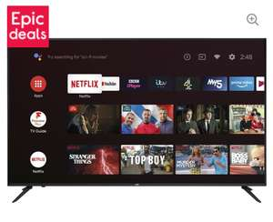 """JVC LT-58CA810 Android TV 58"""" Smart 4K Ultra HD HDR LED TV with Google Assistant £399 @ Currys"""
