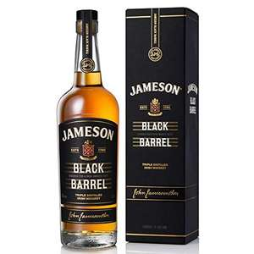 Jameson Black Barrel Blended Irish Whiskey, 70 cl £24 at Amazon