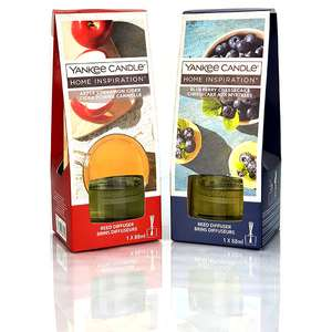 2 x Yankee Candle Home Inspiration Reed Diffusers - £12 delivered @ Yankee Bundles