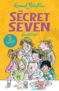 The Secret Seven Collection 1: Book 1-3 by Enid Blyton 99p on Kindle @ Amazon