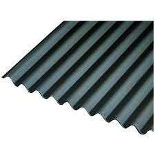 Onduline Black Bitumen Corrugated Roof Sheet - 950mm X 2000mm X 3mm £13 (Free click & collect or £7.95 delivery) at Wickes