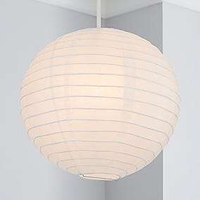 Paper Lanterns 30 and 35cm at Dunelm £2 and £3 respectively @ Dunelm Free click & collect