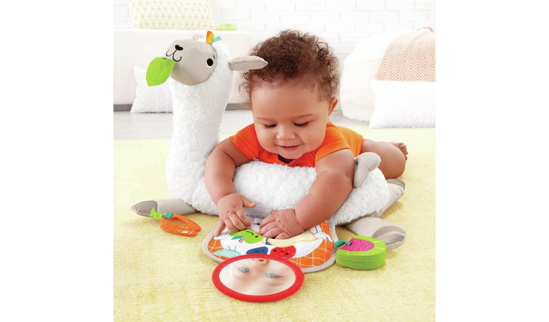 Fisher-Price Grow-with-Me Tummy Time Llama Baby Gym £20 @ Argos