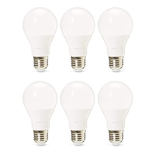 Amazon Basics Professional LED E27 Edison Screw BulbWarm White, Dimmable - Pack of 6 - £5.32 Prime @ Amazon +£4.49 non Prime