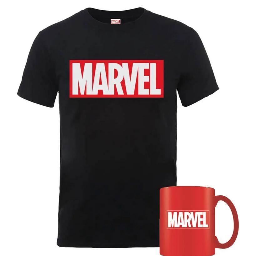Marvel Mug & T-Shirt Bundle - £8.99 Delivered With Code @ Zavvi