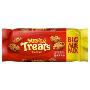 Maryland Treats Choc Chip Cookies double pack (2x 230g) - £1 B&M instore