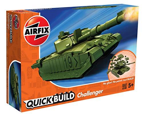 Airfix J6022 Quick Build Challenger Tank Model Railway Toy, Green £6.94 Prime (+£4.49 Non-Prime) @ Amazon
