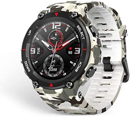 Amazfit T-Rex - Smartwatch Camouflage GPS AMOLED 20-day battery - £74.34 @ Amazon