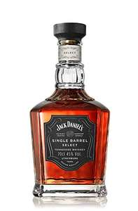 Jack Daniel's Single Barrel Select Tennessee Whiskey, 70 cl £30 at Amazon