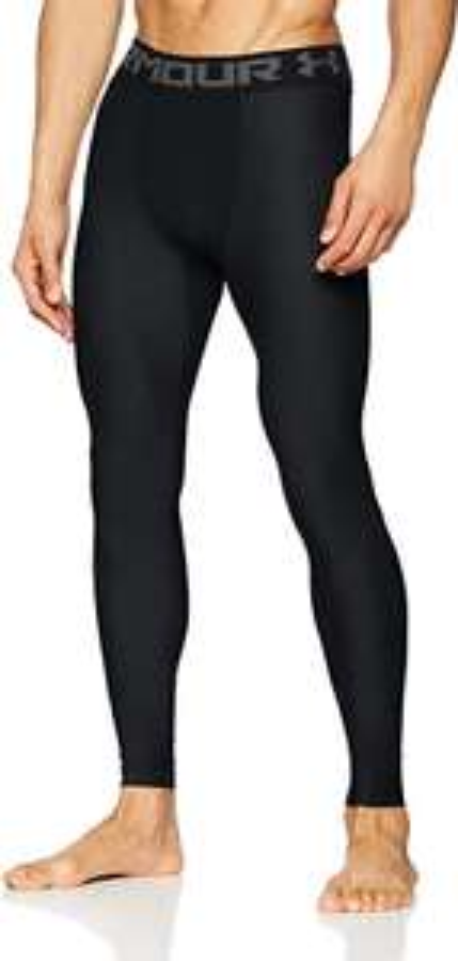 Under Armour Men's HeatGear 2.0 Compression Gym/ Lightweight Thermal Leggings - Black - L & XL - £13 Prime (+£4.49 NP) @ Amazon