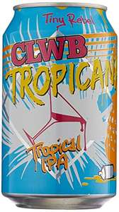 Tiny Rebel Clwb Tropica IPA Beer 12 cans - £16.97 (+£4.49 Non-Prime) + 5% S/S @ Amazon