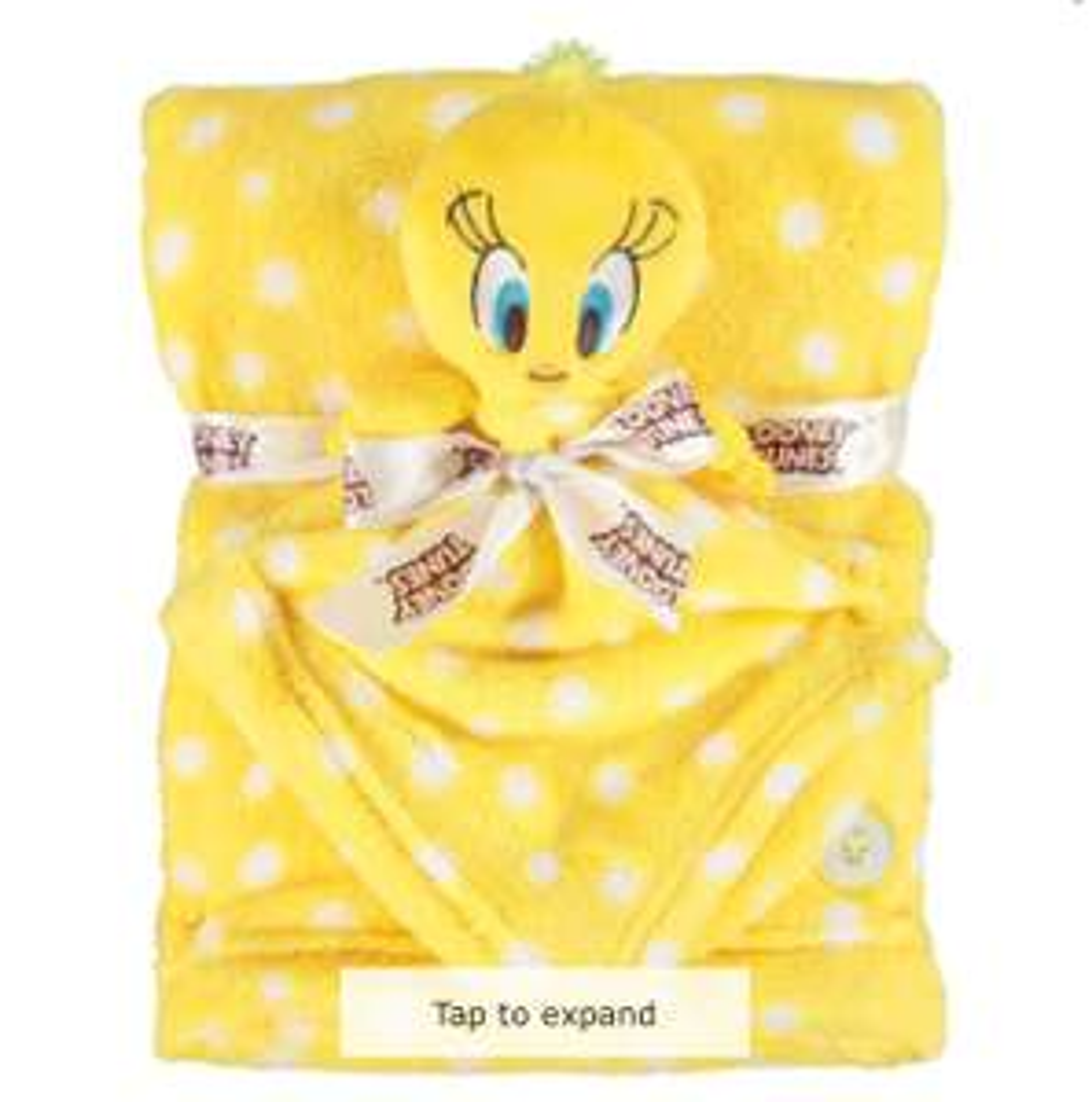 Looney Tunes Yellow Tweety Comforter & Blanket Set - £9.99 (+£1.99 Delivery) @ TK Maxx