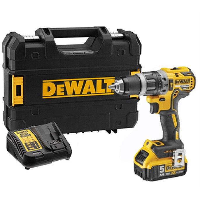 DeWalt DCD796P1 XR Brushless Combi Drill 18v 1 x 5.0Ah Li-Ion £125.99 powertoolmate eBay