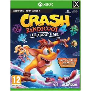 Crash Bandicoot 4: It's About Time for Xbox One - £33 @ AO