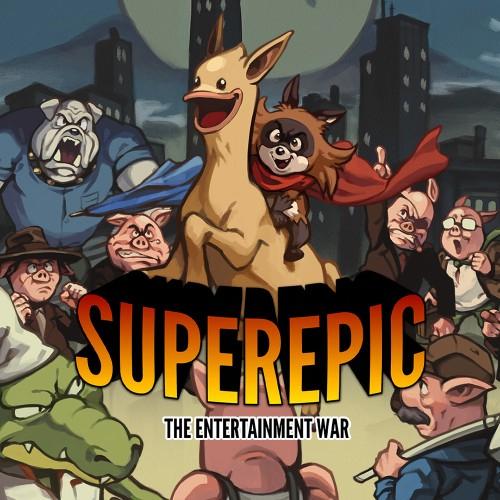 SuperEpic: The Entertainment War £1.49 (Nintendo Switch) @ Nintendo eShop