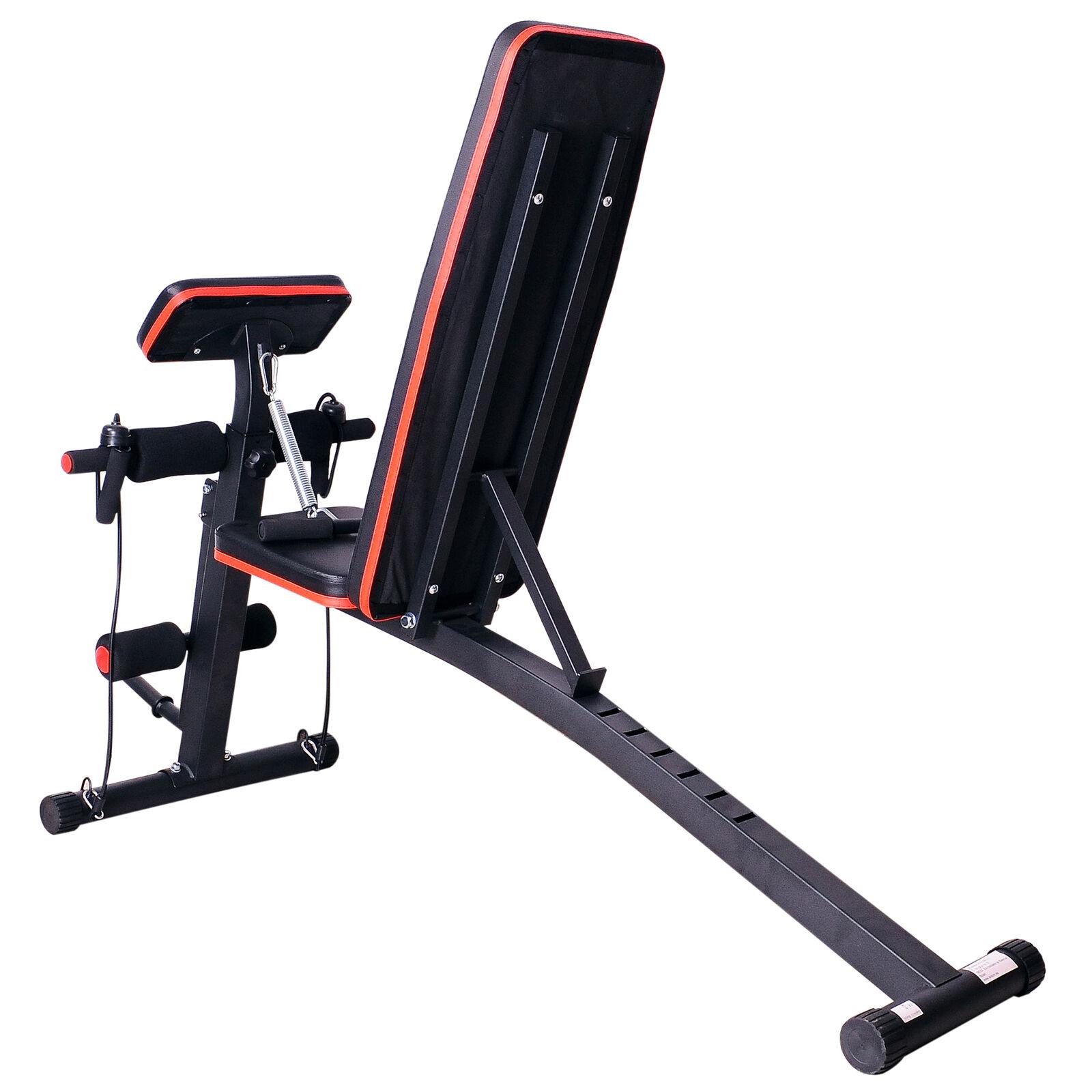 Foldable Dumbbell Bench Weight Training Fitness 6 Incline Adjustable Workout Gym - £53.99 delivered (UK Mainland only) @ ebay / 2011homcom