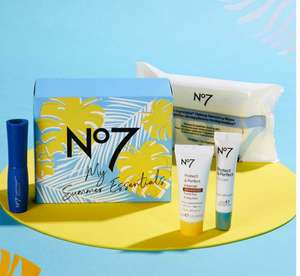 Free My Summer Essentials Gift when you buy 2 selected No7 Cosmetics or Accessories (£1.50 collection) @ Boots