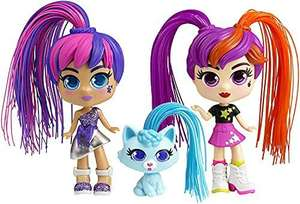 Curli Girls 82080 Doll and Pet Twinset, Mixed Colours - £7.48 (+£4.49 Non Prime) @ Amazon