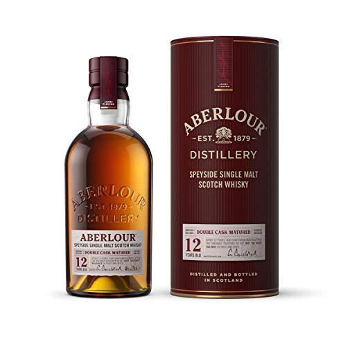 Aberlour 12 Year Old Single Malt Scotch Whisky, 70 cl (Double Oak Cask) - £28 @ Amazon
