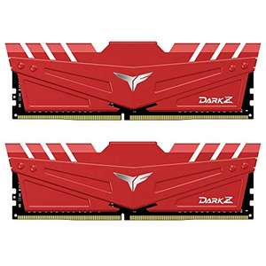 TEAMGROUP T-Force Dark Z 16GB (2x8GB) 3600MHz DDR4 Memory Kit, £69.84 sold by Amazon US at Amazon (UK Mainland)