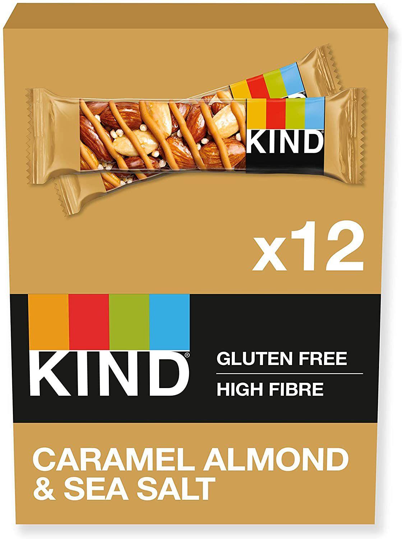 KIND Bars,Gluten Free,Caramel Almond & Sea Salt, 12 Bars £7.99 @ Amazon (£4.49 p&p non prime) £7.22/£7.64 s&s