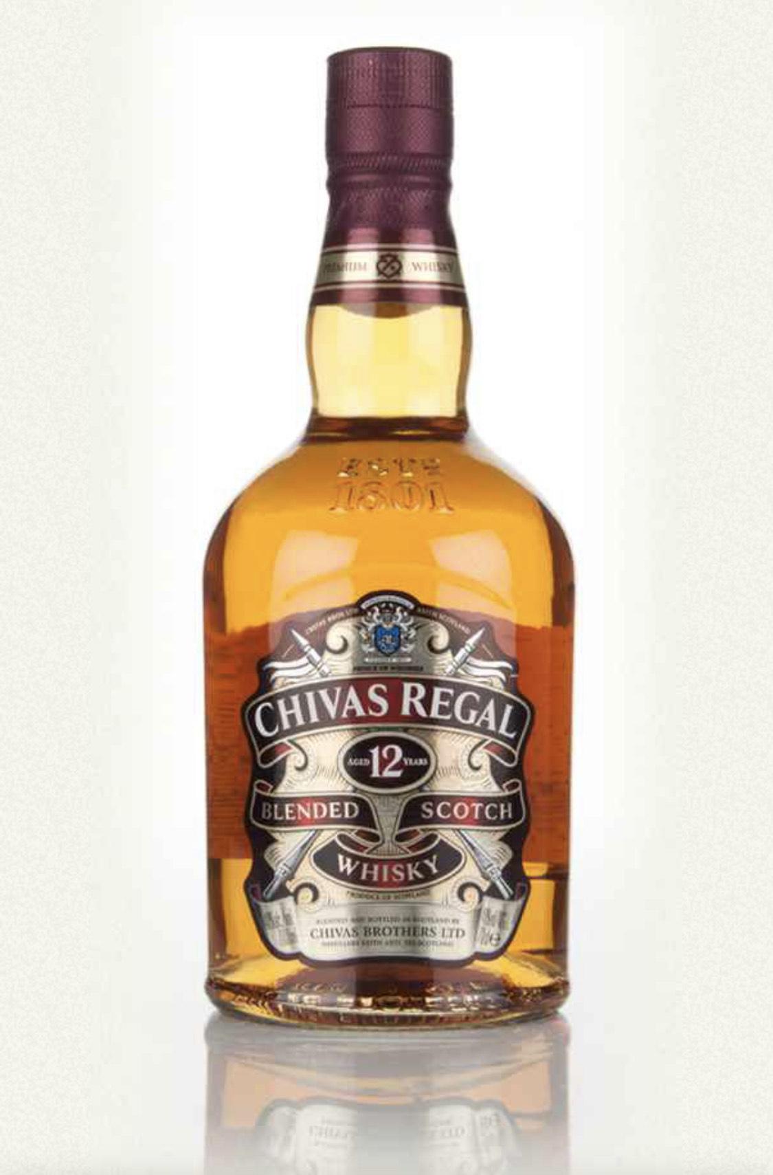 Chivas Regal 12 Year Old Blended Scotch Whisky £20 @ Asda