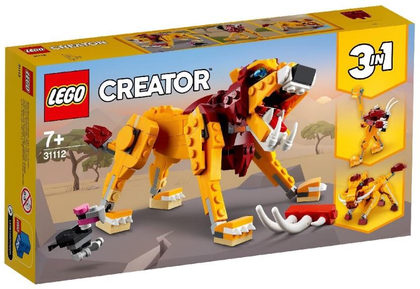 Lego 31112 wild lion set £3.10 @ Asda Derby