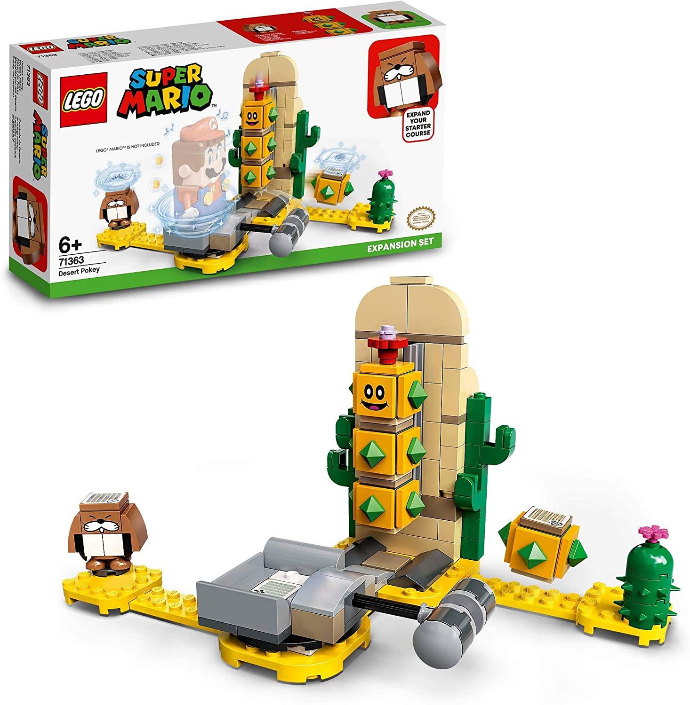 LEGO 71363 Super Mario Desert Pokey Expansion Set - £10 (free click & collect) @ Smyths