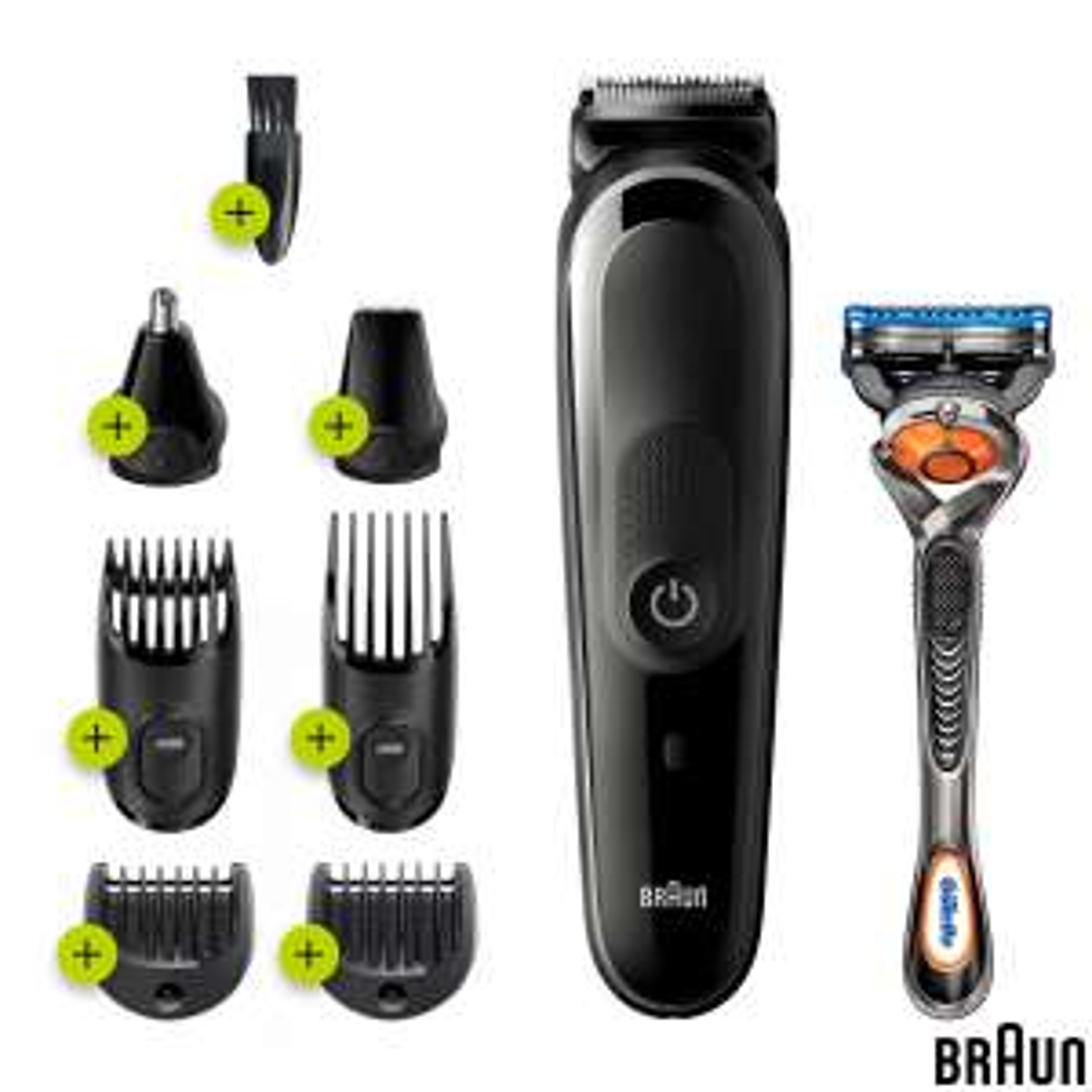 Braun 8-in-1 Beard & Face Trimmer + Hair Clipper + Gillette Fusion 5 ProGlide Razor MGK5260 £29.89 delivered (Membership Required) @ Costco