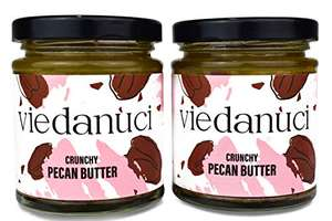 Viedanuci - Crunchy Pecan Butter, 170g (2-Pack) - £2.73 prime / £7.22 non prime (£2.59 with S&S) at Amazon
