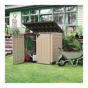 Keter Store It Out Max 4 X 5ft Plastic Garden & Wheelie Bin Storage £135 @ Wickes Selected stores - free click and collect