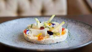 Vegetarian Five Course Tasting Menu and a Glass of Prosecco at The Athenaeum in Mayfair for Two Evoucher - £63 @ Red Letter Days
