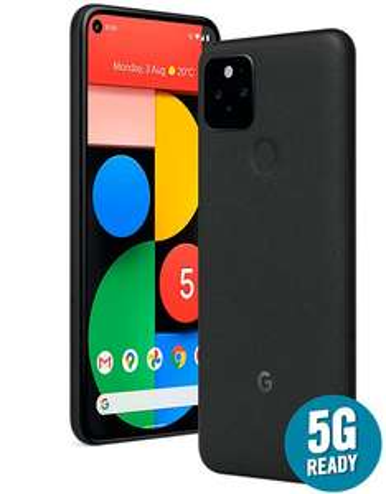 Google Pixel 5 5G 128GB 8GB RAM Single SIM (Unlocked for all UK networks) - Just Black £502 at WowCamera