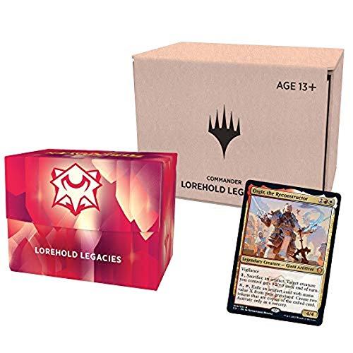 Magic: The Gathering Strixhaven Commander Deck – Lorehold Legacies (Red-White) Minimal Packaging Version - £23.87 @ Amazon