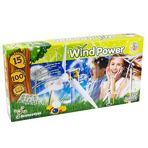 Science4you Wind Power - DYI Wind Turbine £7.34 Amazon Prime (+£4.49 Non Prime)