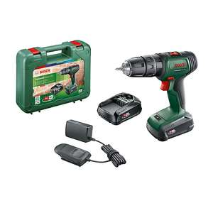 Bosch Power for ALL 18V 2.0Ah Li-ion Cordless Combi drill with 2 x 2ah batteries £80 at B&Q