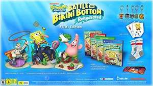SpongeBob Rehydrated Switch F.U.N Edition: Game, 3 Collectable Figurines, 5 Keyrings, Wall Stickers, Socks, 6 Lithographs - £101.54 @ Amazon