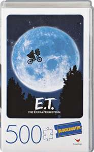 Spin Master Games E.T. the Extra-Terrestrial Movie 500-Piece Puzzle in Plastic Retro Blockbuster VHS Video Case £3.65 Prime (+£4.49 NP)