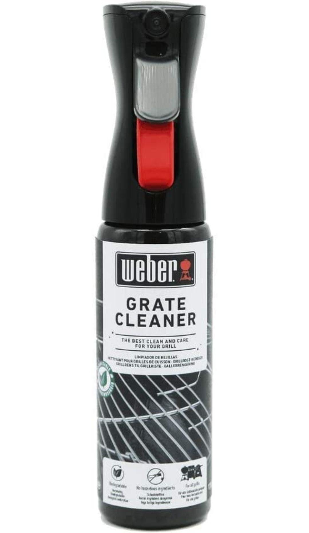 Weber 17875 Grate Cleaner, Black, 5.0 cm*25.0 cm*8.0 cm £7.97 Amazon Prime (+£4.49 Non Prime)