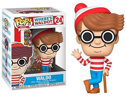 Funko POP Books Waldo £4.52 min order 3 - £13.56 prime / £18.05 non prime @ Amazon