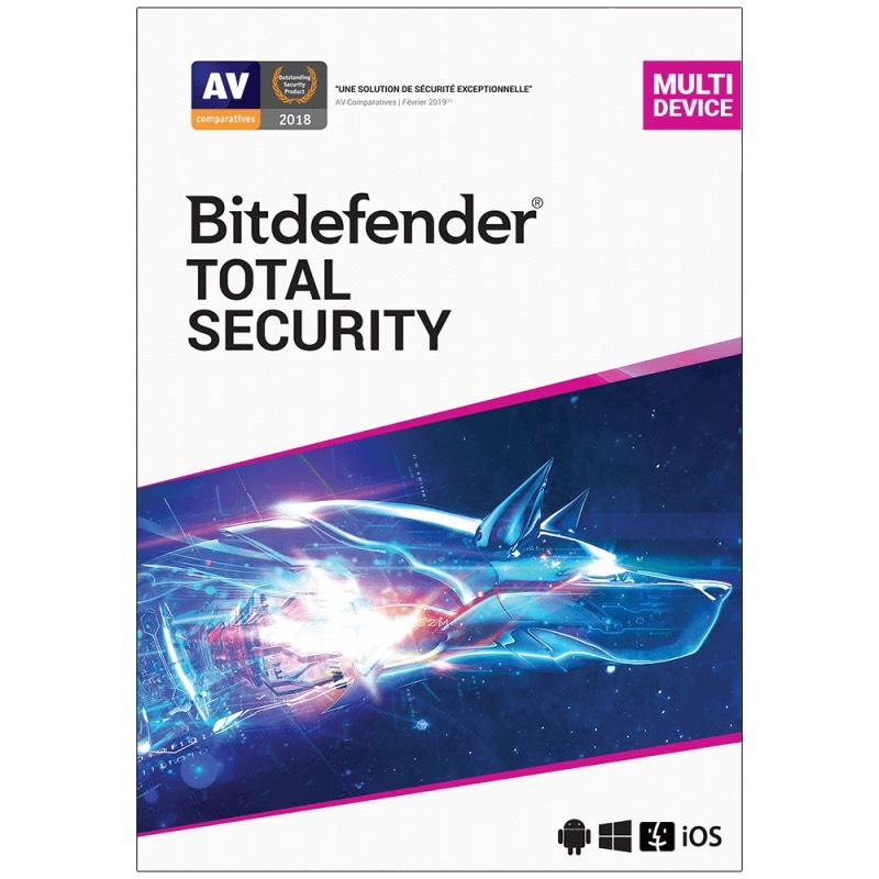 Bitdefender Total Security - Best AV in the business Free - 5-computer 6-month license @ Sharewareonsale