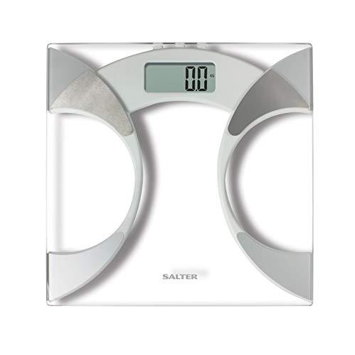 Salter Ultra Slim Analyser Bathroom Scales, Measure Weight BMI BMR Body Fat Percentage Body Water £12.50 Prime (+£4.49 Non-Prime) @ Amazon
